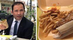 À Béziers, Hamon se ressert un kebab pour se
