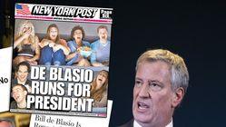 Bill de Blasio, une candidature très (très) loin de faire