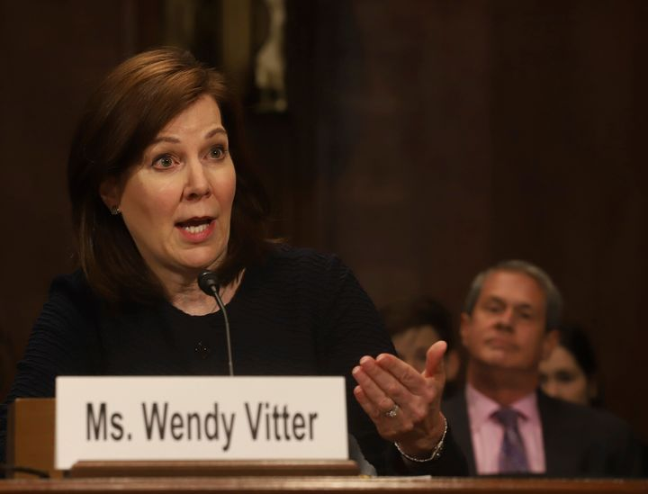 Wendy Vitter equated abortion with murder, falsely suggested a link between abortion and cancer, and endorsed distributing ma