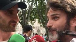 Dani Rovira y Fernando Tejero acuden a un acto de este partido político: