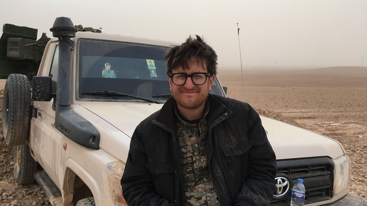 A shot of Belden during his time in Syria.
