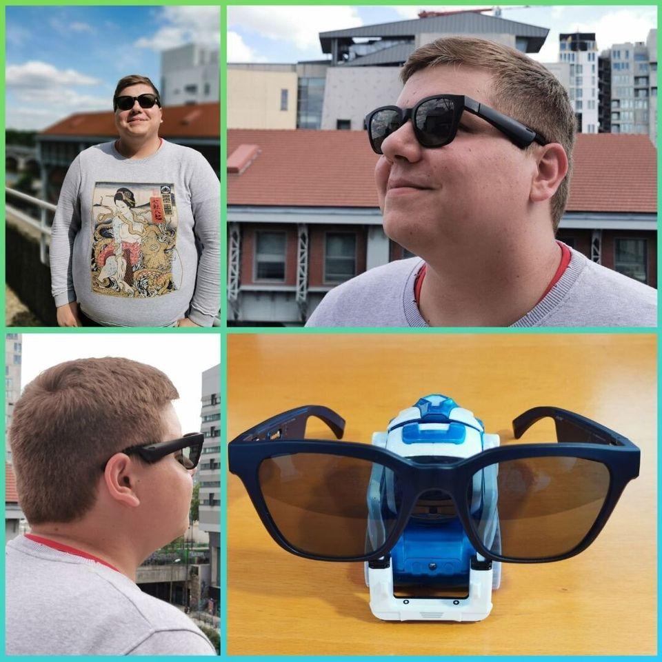 Les Bose Frames vont vous taper dans l'oeil... et les