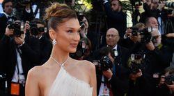 À Cannes, Bella Hadid souffle un vent d'air frais dans cette robe à