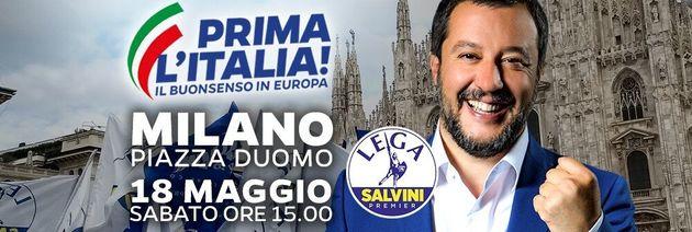 Las claves del macromitin que Salvini ha convocado en Milán con la ultraderecha