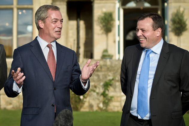 Nigel Farage andArron