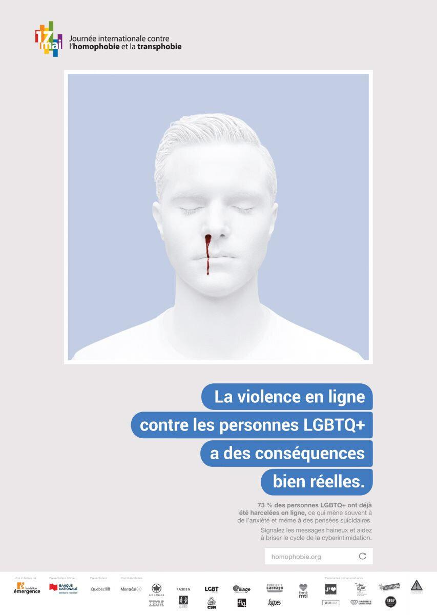 Une campagne choc contre l'homophobie et la