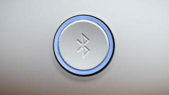 Detail of the Bluetooth button of an audio system in Mexico City on December 6, 2018 (Photo by Omar TORRES / AFP)        (Photo credit should read OMAR TORRES/AFP/Getty Images)
