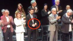 El significativo gesto de Messi mientras se aplaudía a los políticos catalanes presos en un