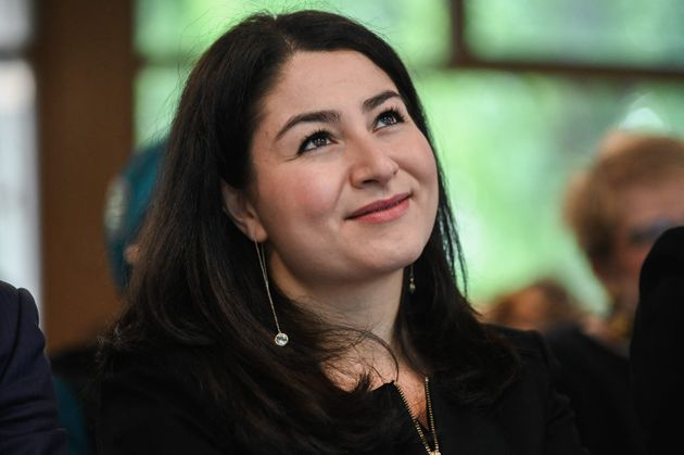 Maryam Monsef attends Bond'Innov in Bondy, France, on May 10,