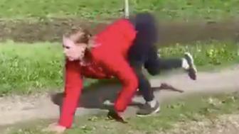 Ayla Kirstine runs like a horse