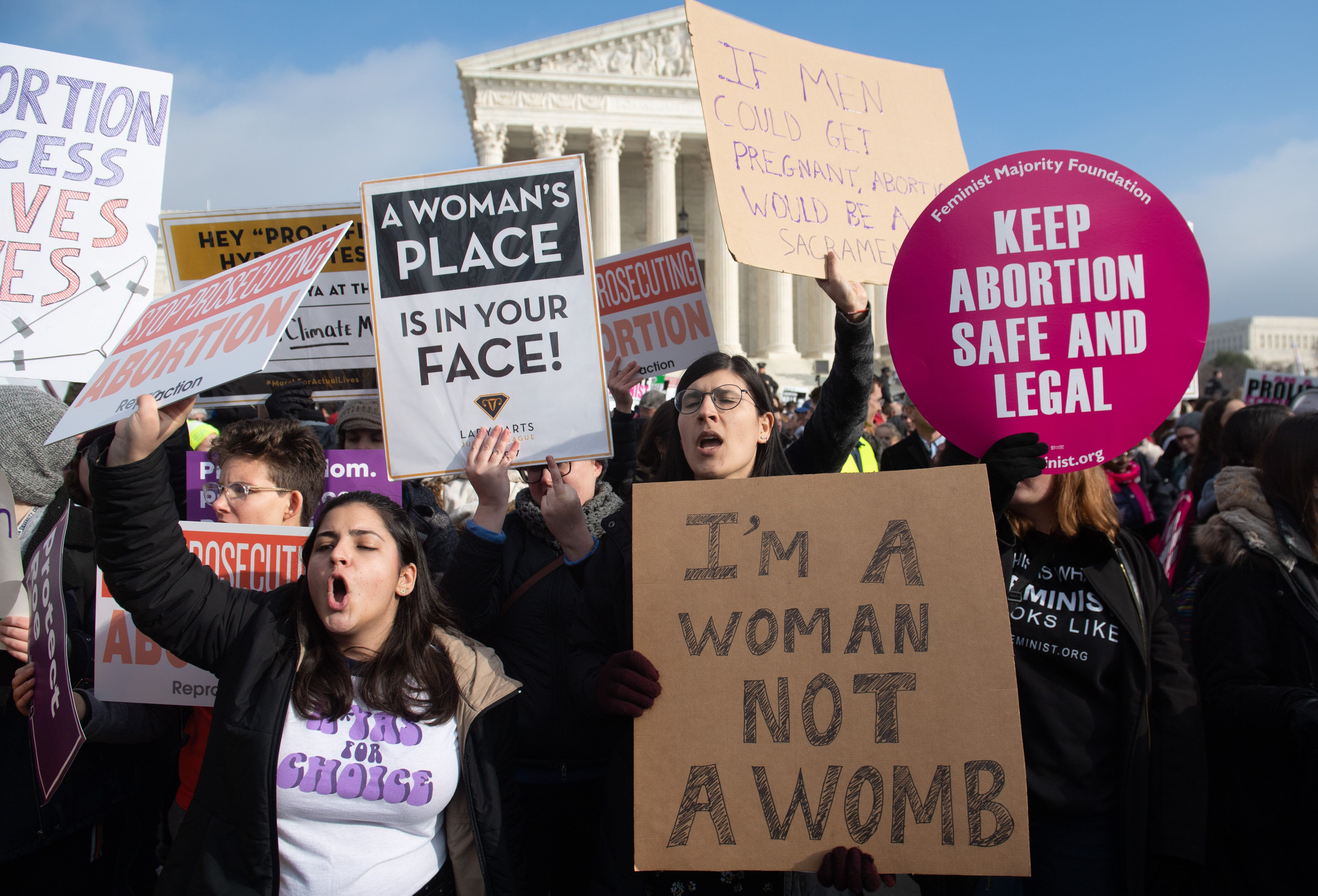 With Abortion Under Attack, These States Are Fighting To Protect It