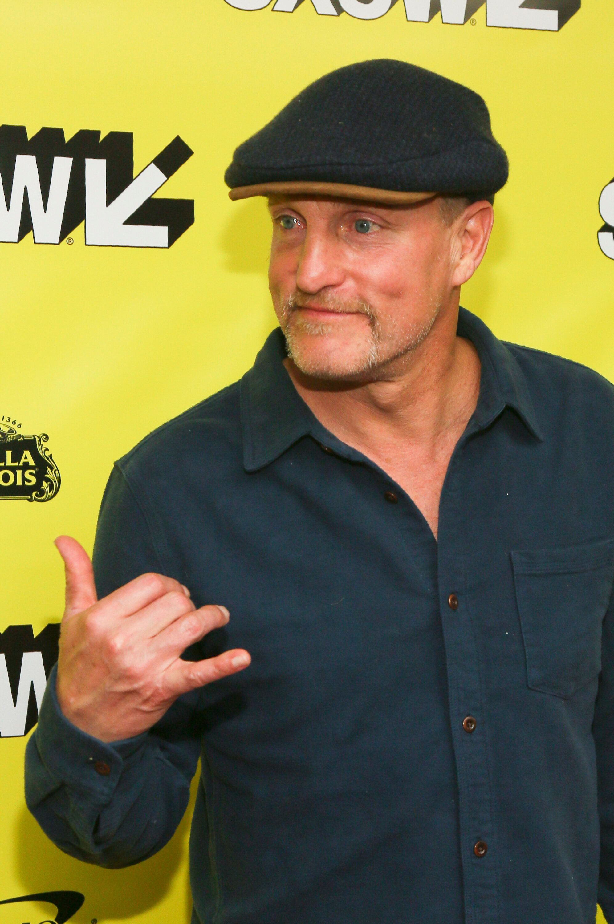 "Woody Harrelson arrives for the world premiere of ""The Highwaymen"" at the Paramount Theatre during the South by Southwest Film Festival on Sunday, March 10, 2019, in Austin, Texas. (Photo by Jack Plunkett/Invision/AP)"
