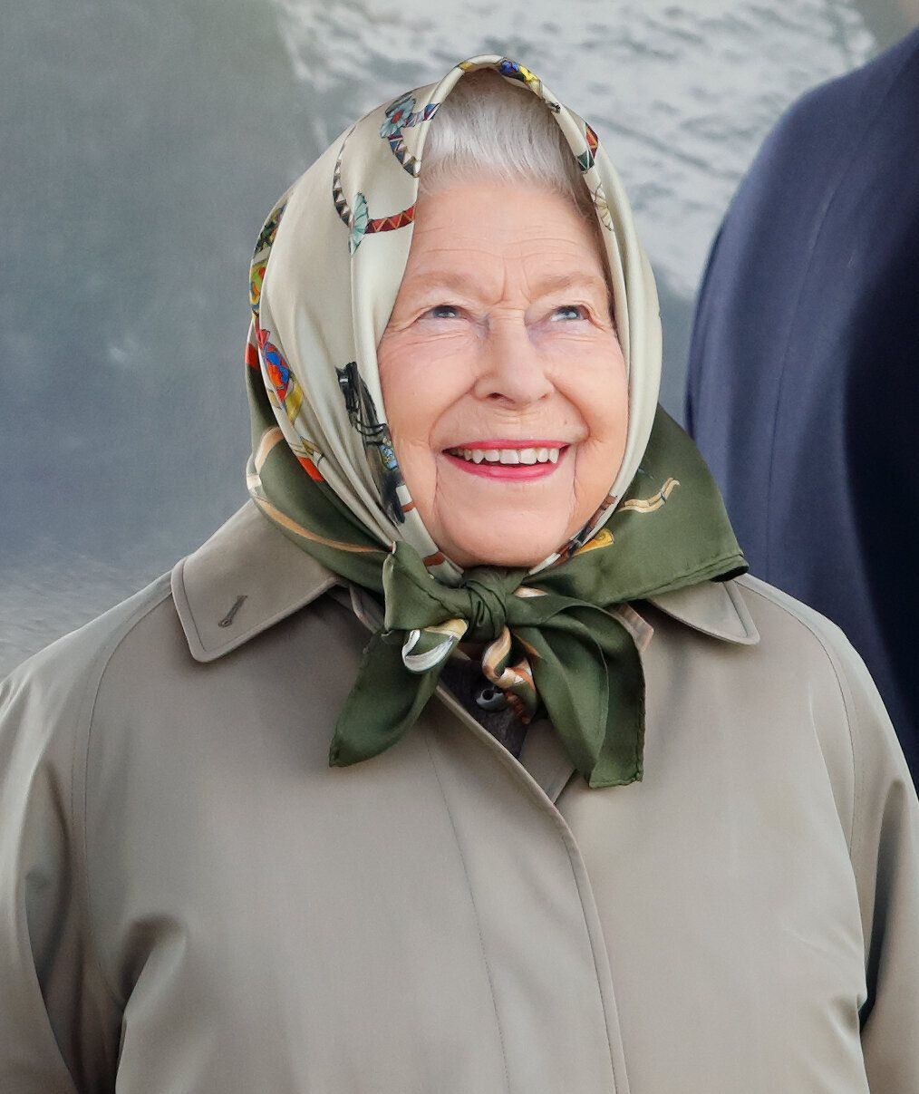 WINDSOR, UNITED KINGDOM - MAY 11: (EMBARGOED FOR PUBLICATION IN UK NEWSPAPERS UNTIL 24 HOURS AFTER CREATE DATE AND TIME) Queen Elizabeth II watches her horse 'Balmoral Mandarin' compete in the BSPS Ridden Mountain and Moorland class on day 4 of the Royal Windsor Horse Show in Home Park on May 11, 2019 in Windsor, England. (Photo by Max Mumby/Indigo/Getty Images)