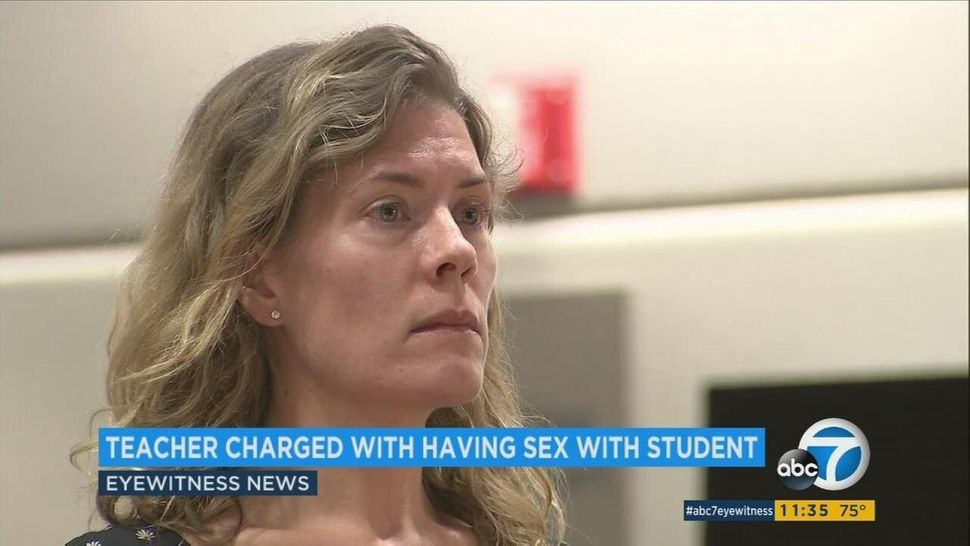 Aimee Palmitessa, a former teacher at Brentwood School, pleaded guilty to three felony counts of unlawful sexual intercourse
