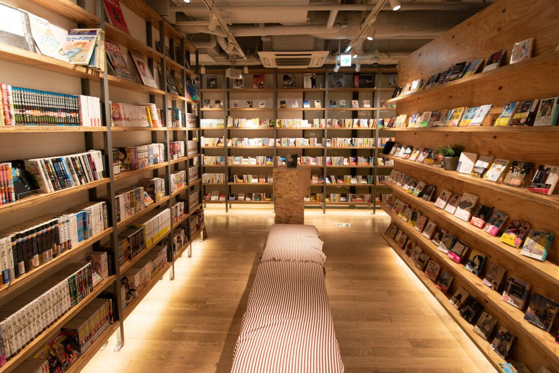 蔦屋新宿24小時書店公寓