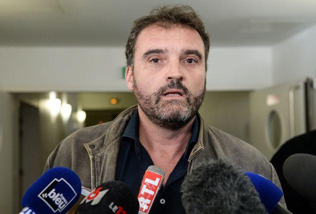 Frédéric Péchier après une audience au tribunal de Besançon en mars