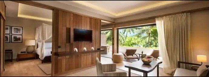 King Garden View Suite房型 (Photo Credit:Conrad Bora Bora Nui)
