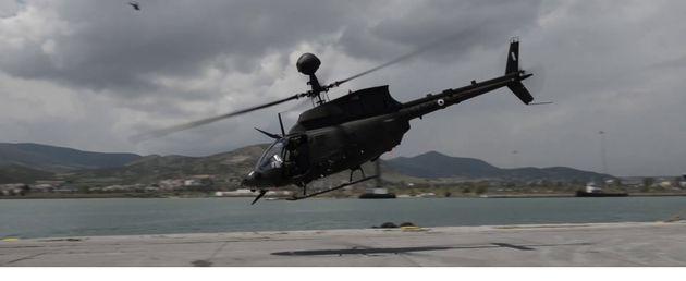 Φωτογραφίες: Η άφιξη των ελικοπτέρων OH-58D Kiowa Warrior στην