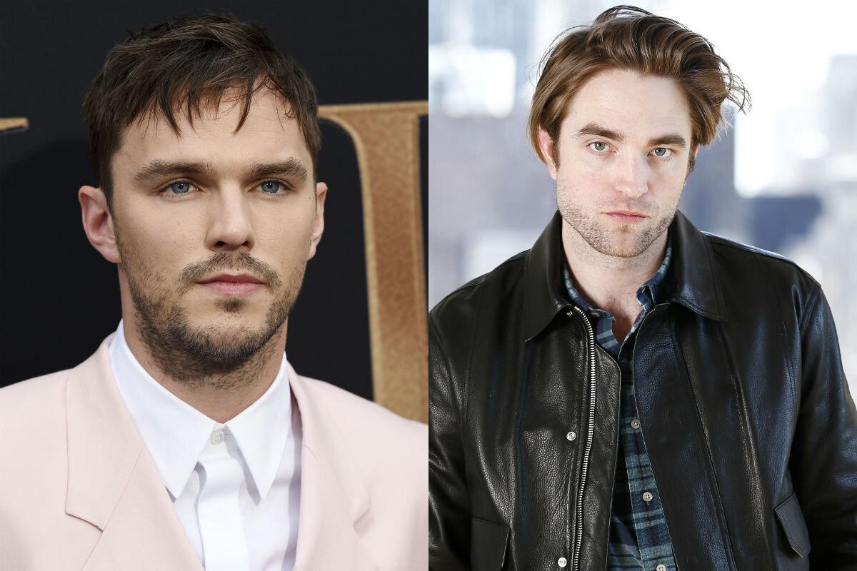 Nicholas Hoult and Robert Pattinson (Credit: AP)