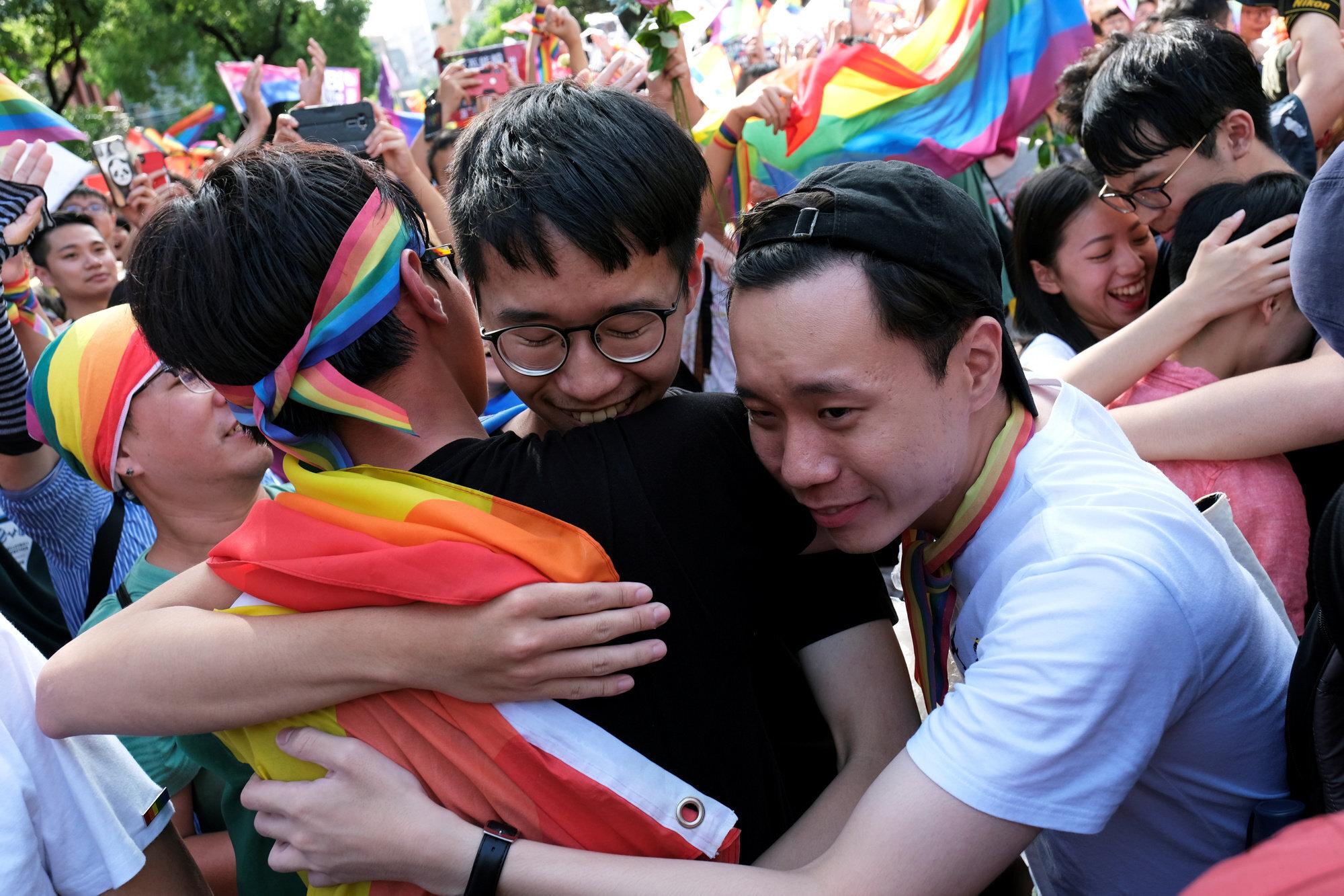 Taiwán se convierte en el primer país de Asia en legalizar el matrimonio