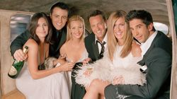 La nostálgica foto de los actores de 'Friends' antes de