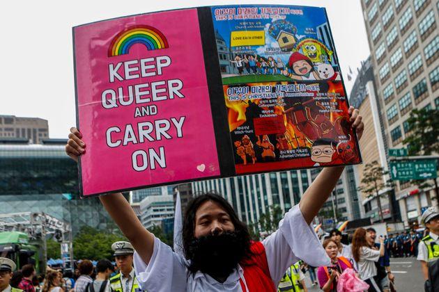 인권위원장이 최초로 '국제 성소수자 혐오 반대의 날' 성명을