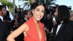 Elle a recyclé le tapis rouge de Cannes en robe pour monter les