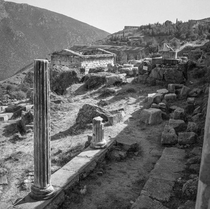 Η στοά των Αθηναίων πριν...