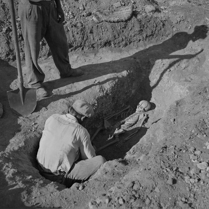 Ανακάλυψη ταφής στις