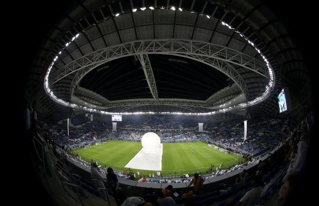 Le premier des stades climatisés construits en vue de la Coupe du monde 2022 au