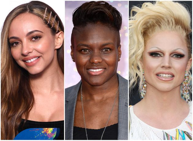 Little Mix star Jade Thirlwall, Nicola Adams and Courtney