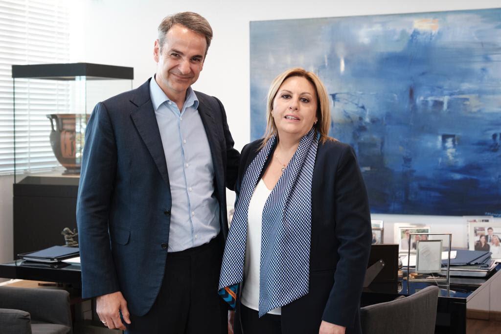 NΔ: Υποψήφια στον Νότιο Τομέα της Β' εκλογικής περιφέρειας Αθηνών η Ντόρα