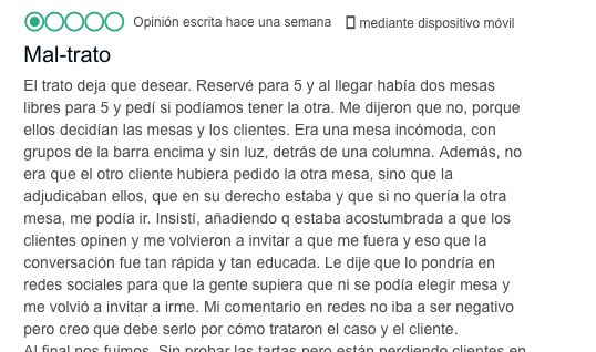 Un restaurante de León arrasa con su respuesta a esta queja en TripAdvisor: lo nunca