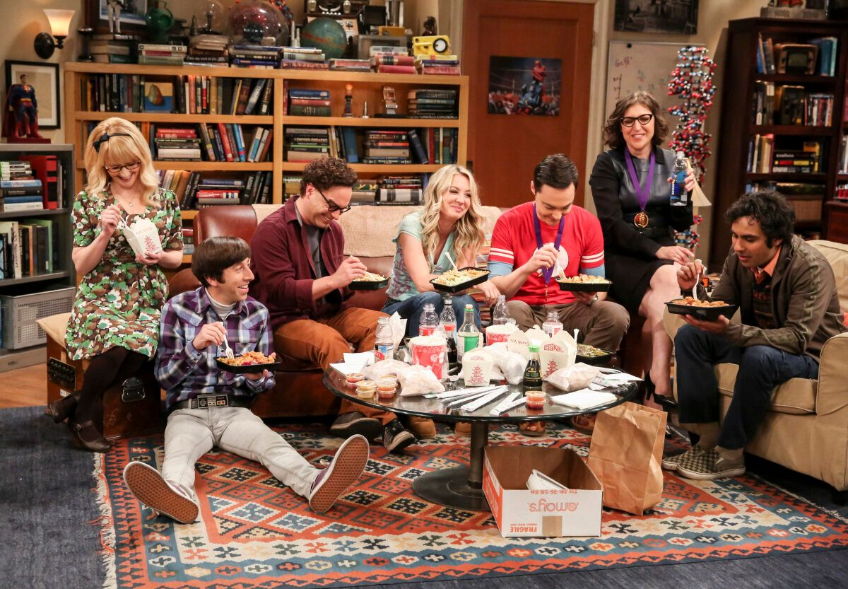"""The cast of """"The Big Bang Theory."""""""
