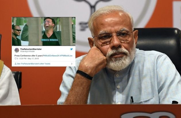 Twitter Wasted No Time In Ripping Apart Modi-Shah's 'Press