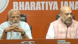 At PM Modi's First Press Conference, Amit Shah Does All The