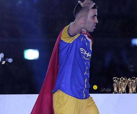 Champion d'Arabie Saoudite, Abderrazak Hamdallah sort sa cape de super héros