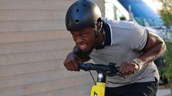 Usain Bolt contraint de rebaptiser ses trottinettes