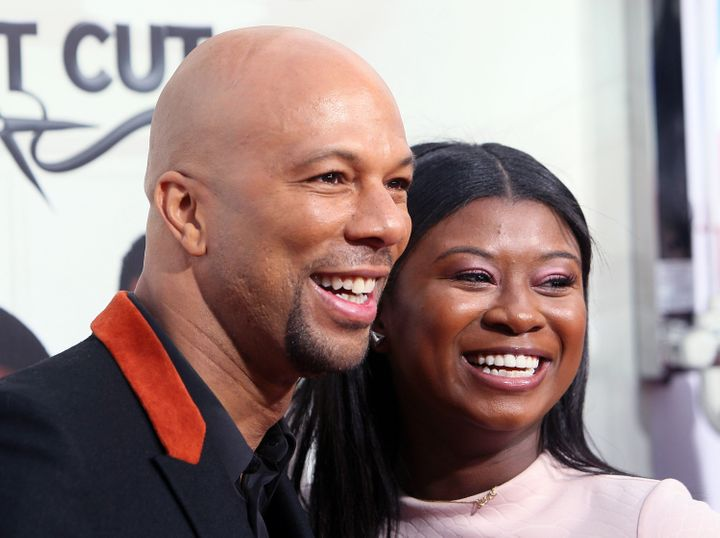 Common and his daughter, Omoye.