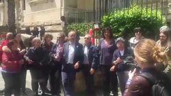 La protesta dei prof romani a sostegno della collega di Palermo (di