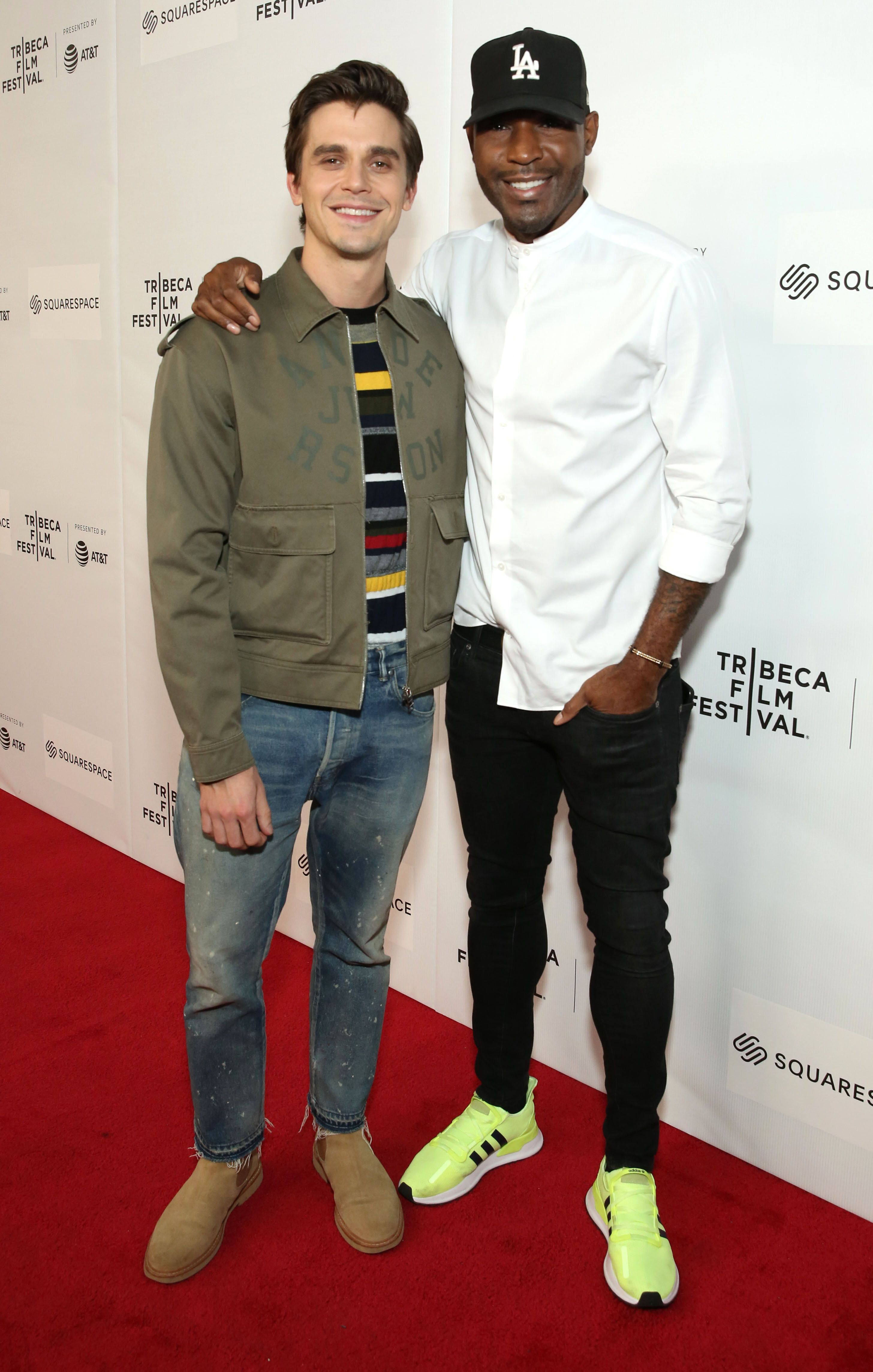 NEW YORK, NEW YORK - APRIL 29: Antoni Porowski and  Karamo Brown attend the World Premiere Of 'GAY CHORUS DEEP SOUTH' Documentary, Developed And Produced By Airbnb At The 2019 Tribeca Film Festival at Marriott Bonvoy Boundless Theatre on April 29, 2019 in New York City. (Photo by Monica Schipper/Getty Images for Airbnb)
