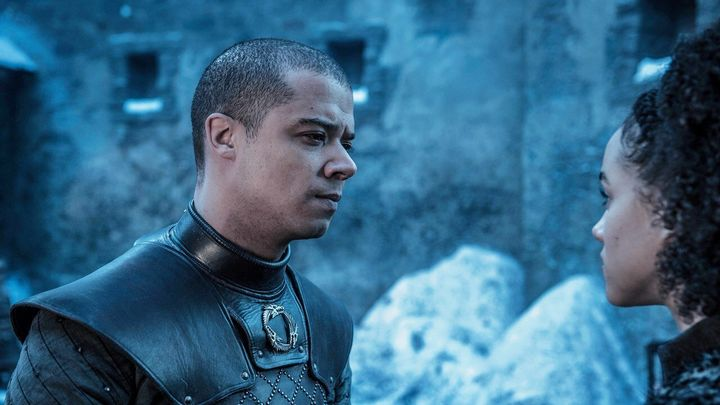 Grey Worm and Missandei plotting their Caribbean getaway.