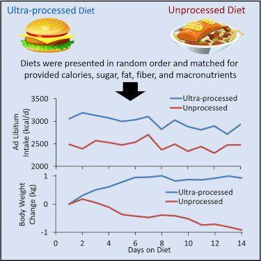 Les aliments ultratransformés font prendre du poids, selon une étude du gouvernement