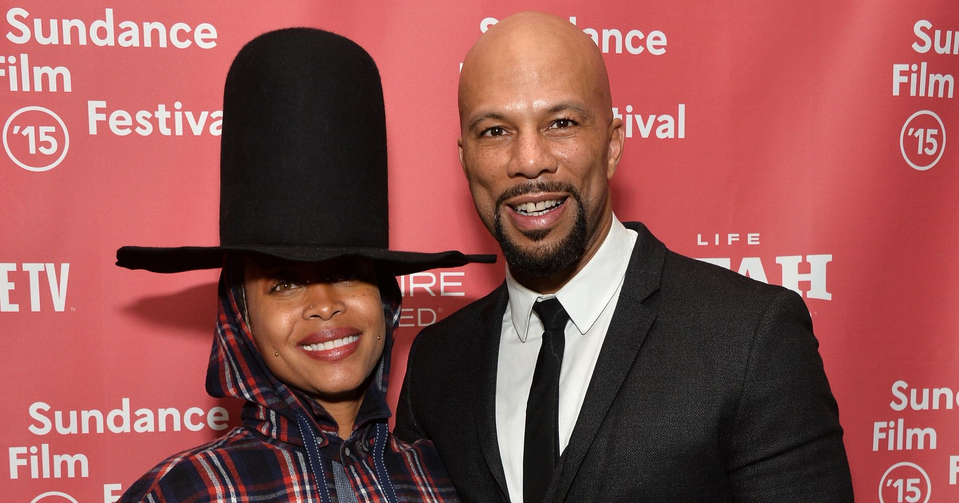 Image result for Common reveals it was hard to eat after break up with Erykah Badu!