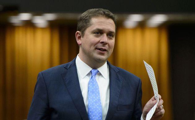 Le chef du Parti conservateur du Canada, Andrew