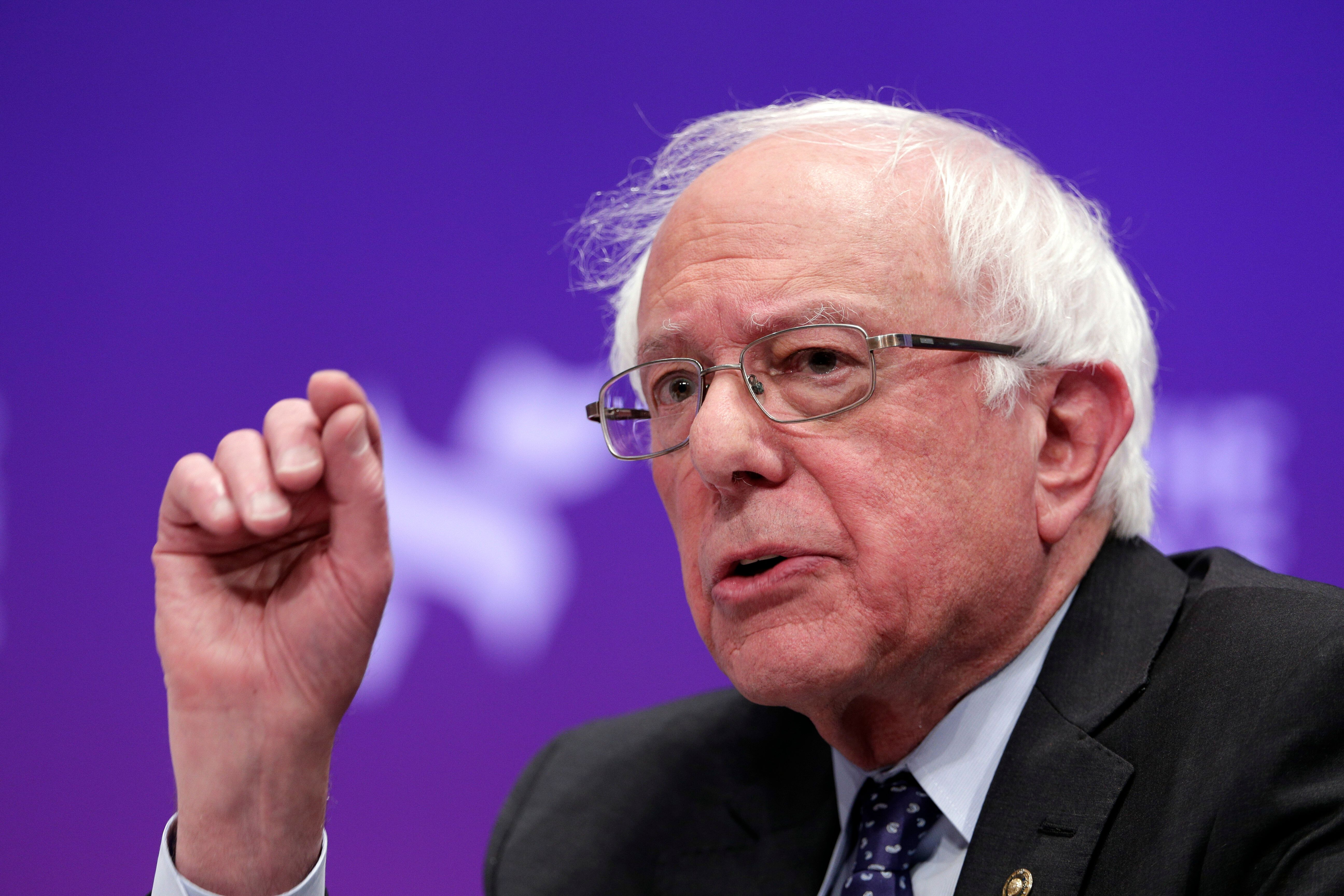 Bernie Sanders Used His Campaign Data To Drive Turnout On Strike Picket Lines