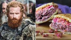 Elegeram um sanduíche para cada personagem de 'Game of Thrones' ― e ficou