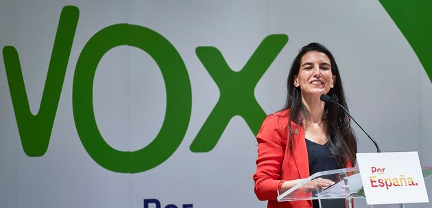 Rocío Monasterio (Vox) preparará el debate de Telemadrid