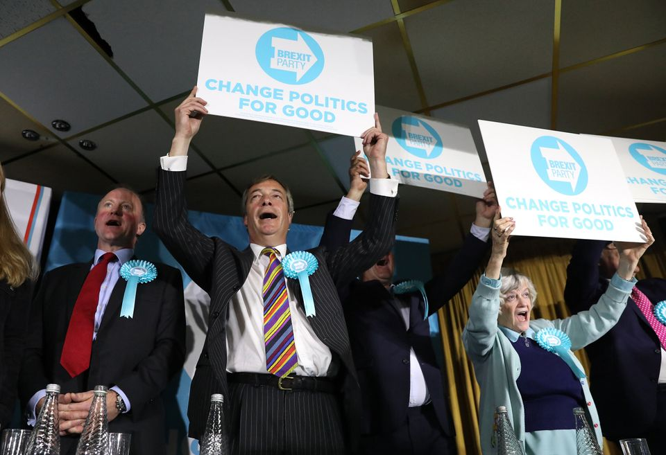 Farage's rallies echo Donald Trump's, with audience participation, 'Nigel' chants, and slick video and...