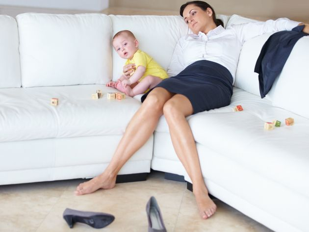 A working mom wonders if it might be easier if she cut out sleep,